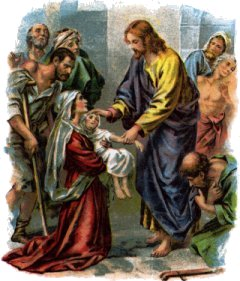 Jesus the Healer Image